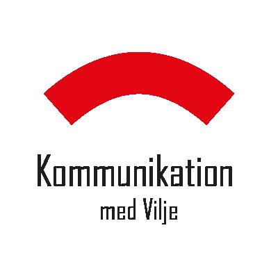 """Logo for projektet """"Kommunikation med Vilje"""""""