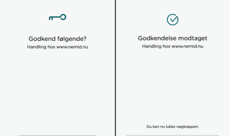 NemID app erstatter nøglekort