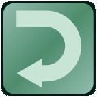 GoTalk Now TIlbage knap ikon