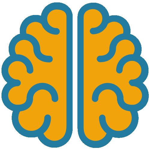 """Logo for Virtual Reality Platformen """"VR Cognition"""""""