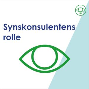 Ikon til Synskonsulentens rolle